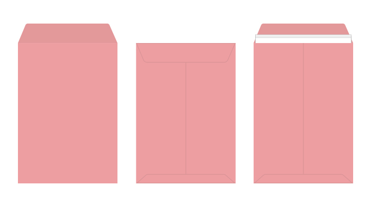 角2 カラー封筒