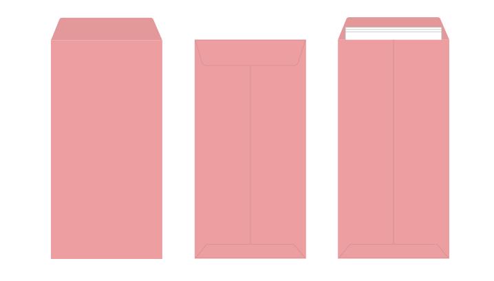長3 カラー封筒