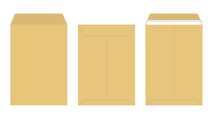 角2 クラフト封筒